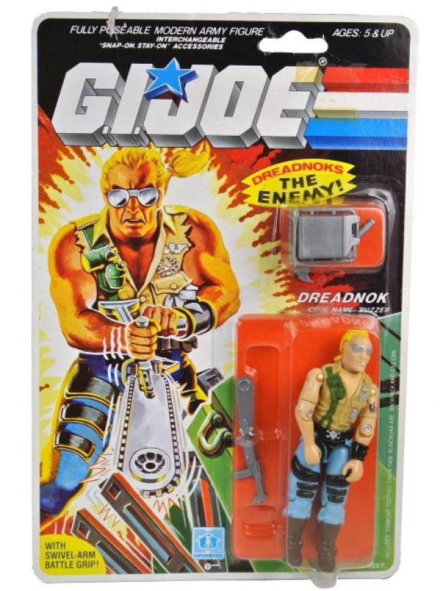 GI Joe - 1985 - Dreadnok Buzzer V1 - MOSC