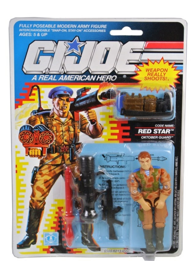 GI Joe - 1991 - Oktober Guard Red Star V1 - MOSC