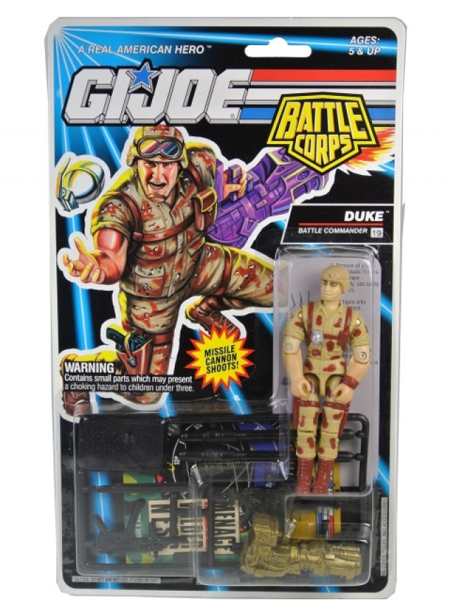 GI Joe - 1993 - Battle Corps - Duke V4 - MOSC