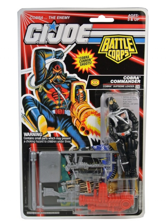 GI Joe -1993 - Cobra Commander V6 - MOSC