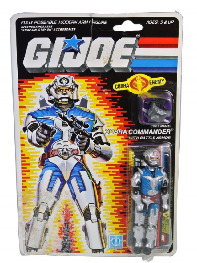 GI Joe - 1987 - Cobra Commander v3 - MOSC