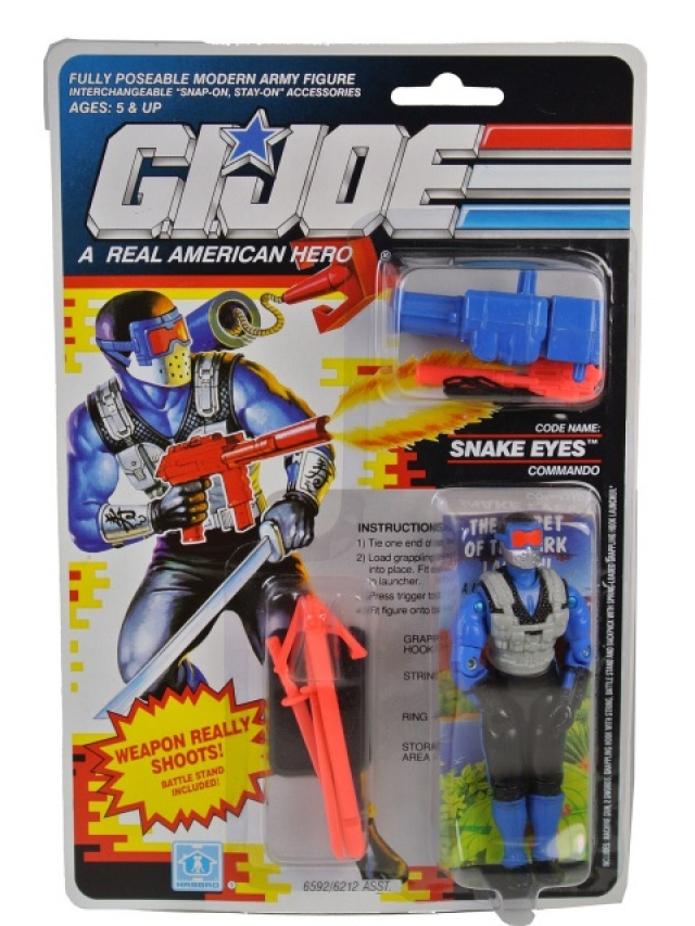 GI Joe - 1991 - Snake Eyes v4 - MOSC