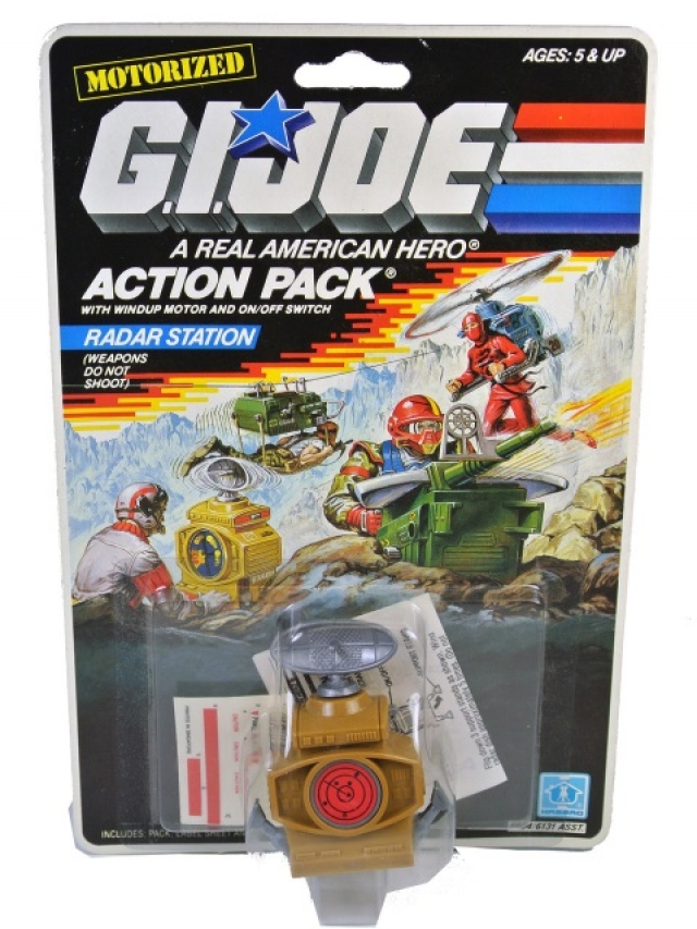 GI Joe - 1987 - Radar Station - MOSC