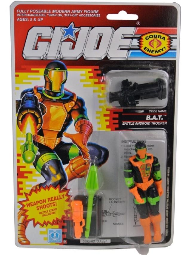 GI Joe - 1991- B.A.T. v2 - MOSC