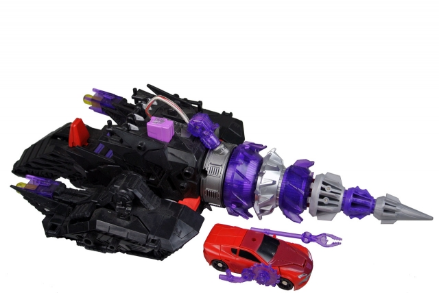 Transformers Prime - Energon Driller w/Knock Out - Loose 100% Complete