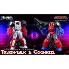 Make Toys - Manga Mech Series - Trash-Talk & Cogwheel - Set of 2 Figures