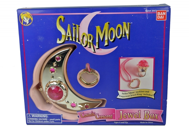 Sailor Moon - Cosmic Cresent Jewel Box - MISB