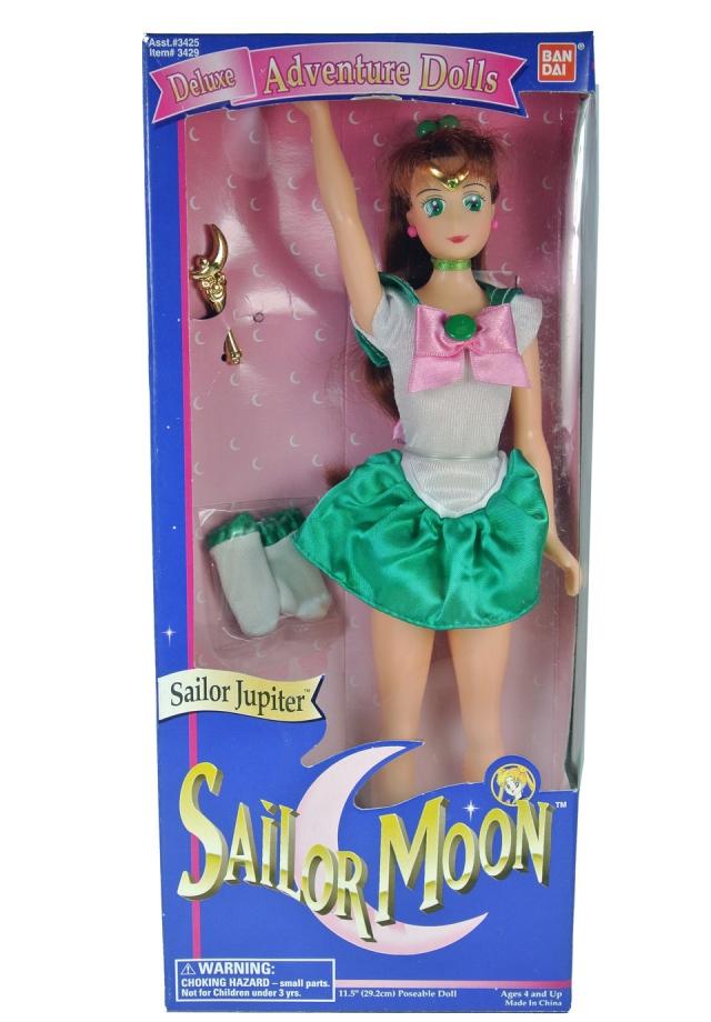 Sailor Moon - Deluxe Adventure Dolls - Sailor Jupiter 12 inch - MISB