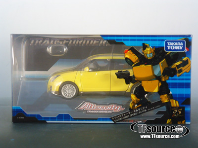 Alternity - A-03 Bumblebee Suzuki Swift Sport - Champion Yellow