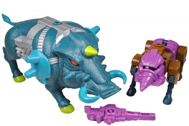 Transformers G1 - Pretender Snarler - Loose 100% Complete