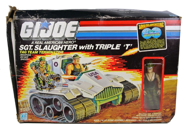 GI Joe - Sgt. Slaughter with Triple