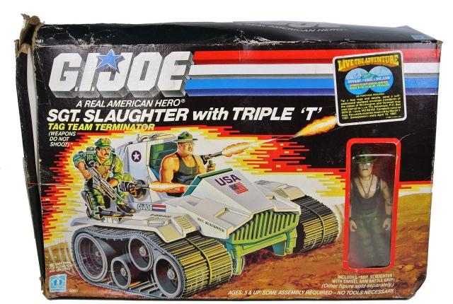 GI Joe - Sgt. Slaughter with Triple