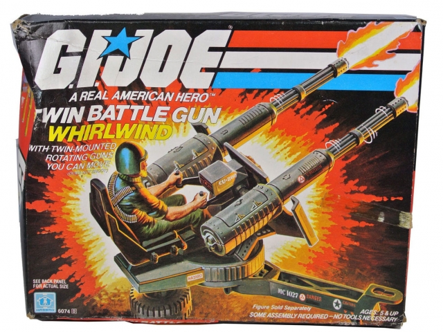 GI Joe - Twin Battle Gun - MIB