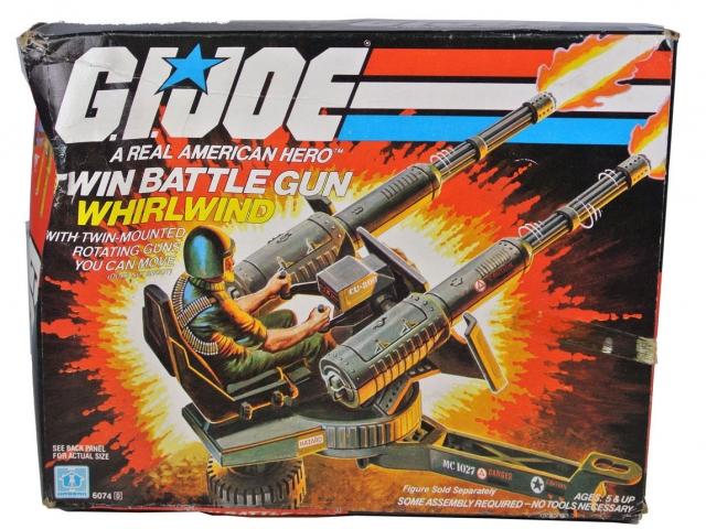 GI Joe - Twin Battle Gun - MIB