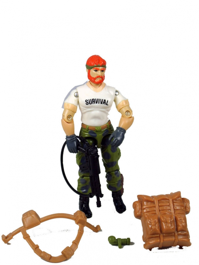 GI Joe - Outback - Loose 100% Complete