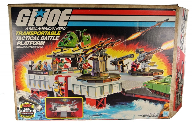 GI Joe - Transportable Tactical Battle Platform - MIB