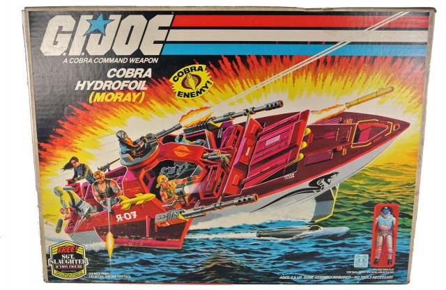 GI Joe - Cobra Hydrofoil - MIB