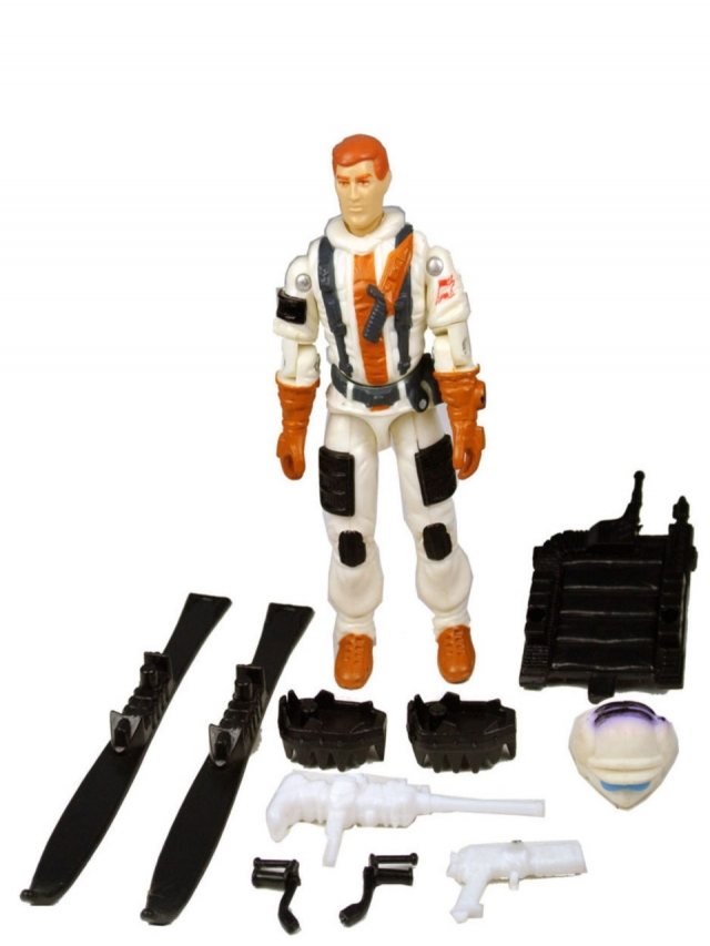 GI Joe - Blizzard v1 - Loose - 100% Complete