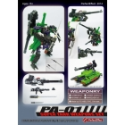 Perfect Effect - PA-01 - Super Tank Weapon Set - Add on for GDO Megatron