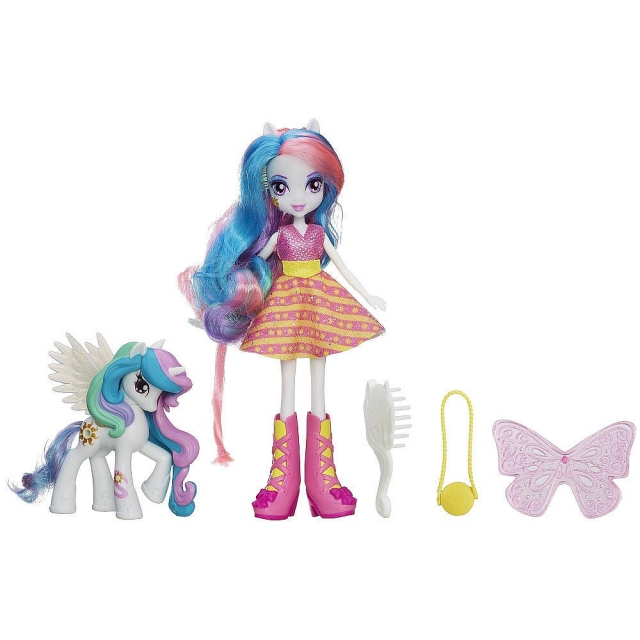 My Little Pony - Equestria Girls - Celestia Doll and Pony Set