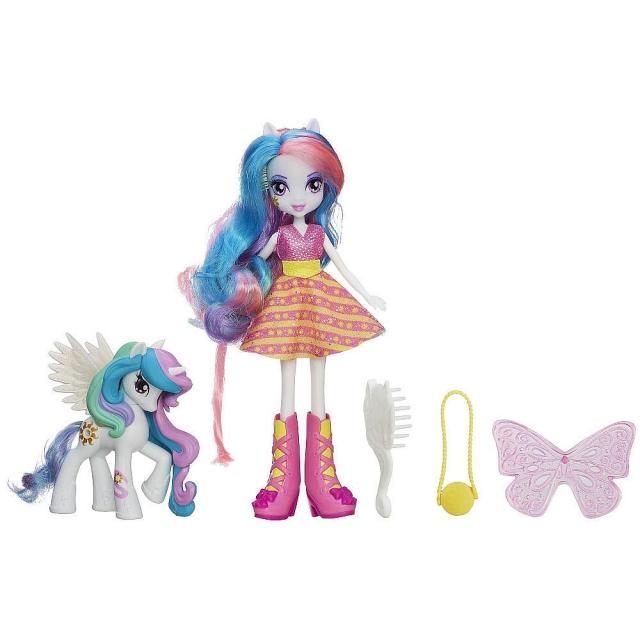 My Little Pony - Equestria Girls - Celestia Doll and Pony Set