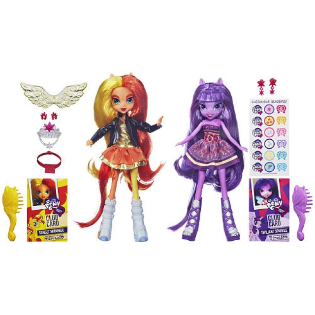 My Little Pony - Equestria Girls - Sunset Shimmer & Twilight Sprinkle