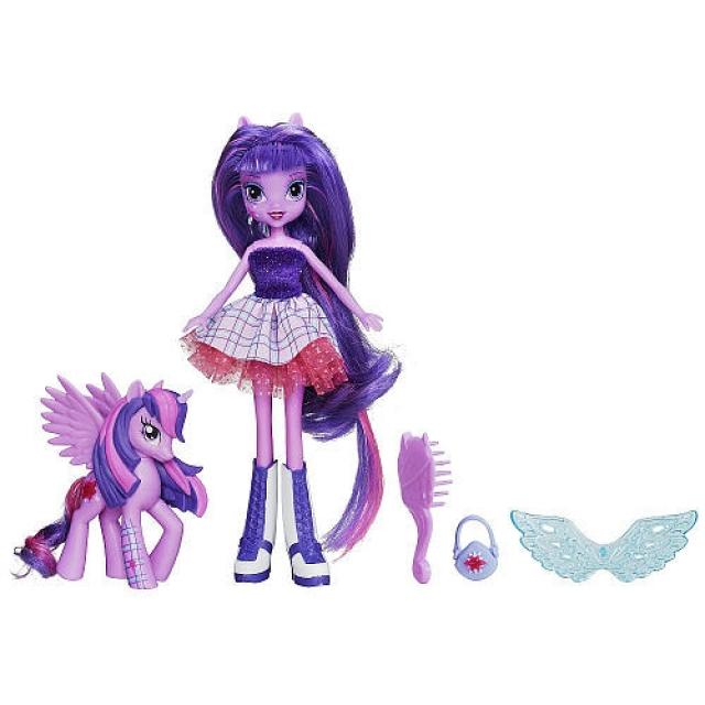 My Little Pony - Equestria Girls - Twilight Sparkle Doll and Pony Set