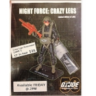GI Joe - JoeCon 2014 Night Force Crazy Legs