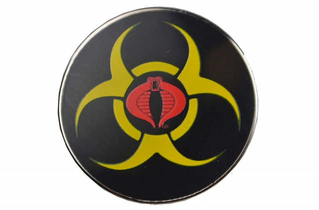 GIJOE - JoeCon 2014 - Zombie Initiative Pin