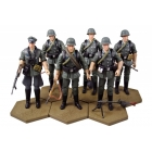Hiya Toys - OurWar - WWII German Wehrmacht Infantry - Set of 6