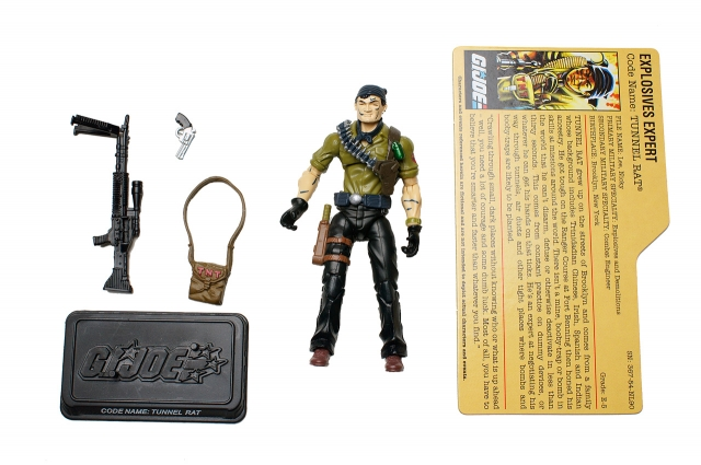 GI JOE - Resolute - Tunnel Rat - Loose 100% Complete