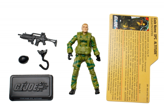 GI JOE - 25th Anniversary - Spc. Altitude - Loose 100% Complete