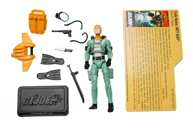 GI JOE - 25th Anniversary - Wet Suit - Loose 100% Complete