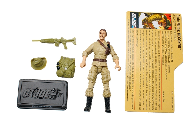 GIJoe - 25th Anniversary - Recondo - Loose 100% Complete