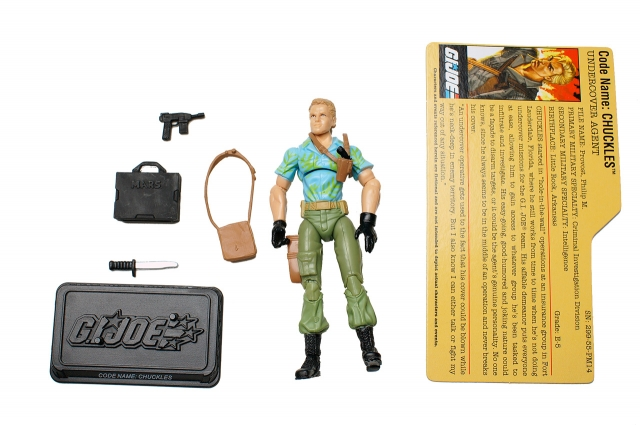 GIJoe - 25th Anniversary - Chuckles - Loose 100% Complete