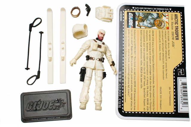 GIJoe - 25th Anniversary - Snow Job - Loose