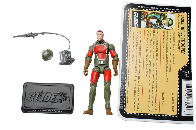 GI Joe - 25th Anniversary - Sgt. Flash - Loose 100% Complete