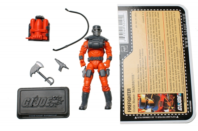 GI Joe - 25th Anniversary - Barbecue - Loose 100% Complete