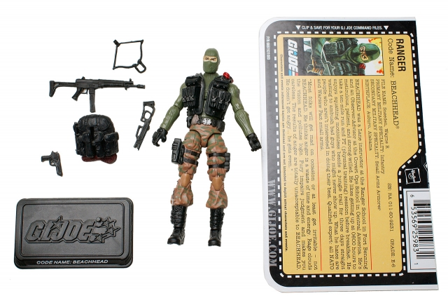 GI Joe - 25th Anniversary - Beachhead - Hall of Hero's - Loose 100% Complete