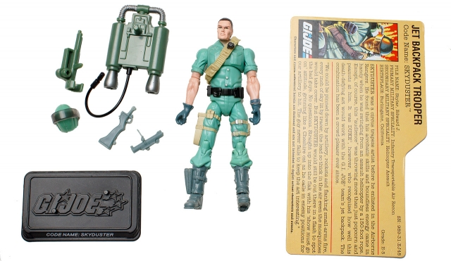 GI Joe - 25th Anniversary - Skyduster - Air Command - Loose 100% Complete