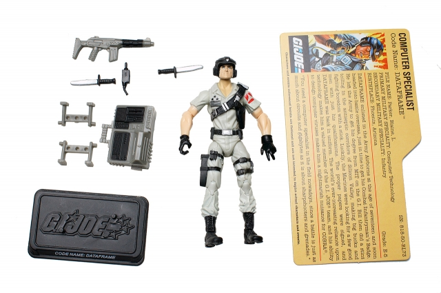 GI Joe - 25th Anniversary - Dataframe - Comic Pack - Loose
