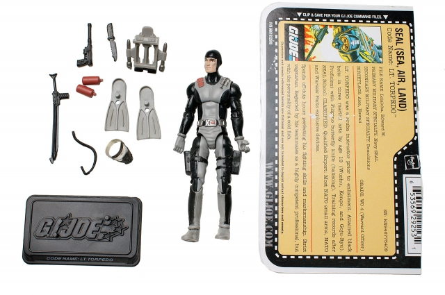 GI Joe - 25th Anniversary - Lt. Torpedo - Loose 100% Complete