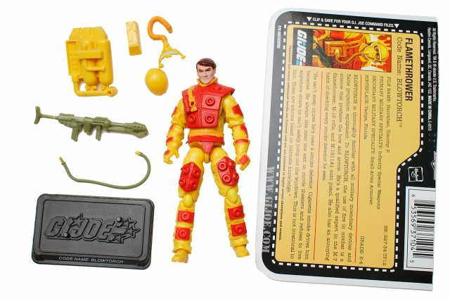 GI Joe - 25th Anniversary - Blowtorch - Loose 100% Complete