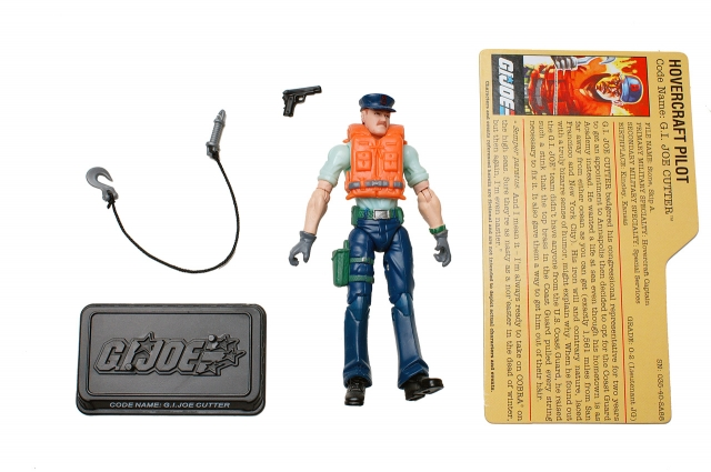 GI Joe - 25th Anniversary - Cutter - Sea Command - Loose 100% Complete