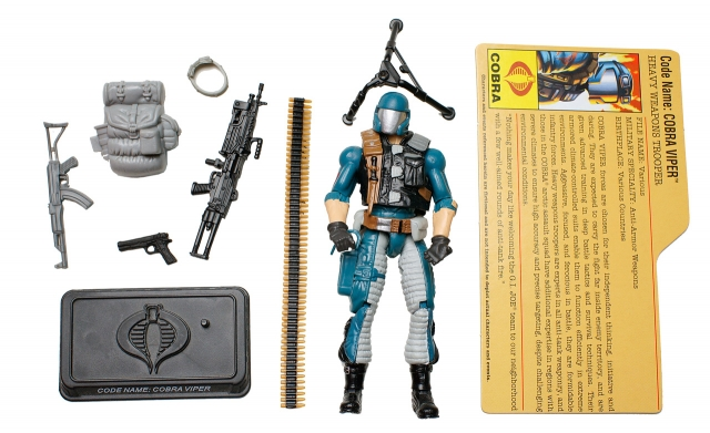 GI Joe - 25th Anniversary - Cobra Viper - Arctic Assault - Loose