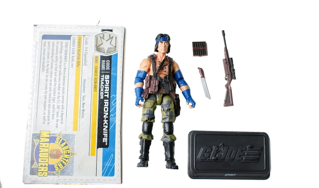 GIJoe - 30th Anniversary - Spirit - Iron-Knife - Loose 100% Complete