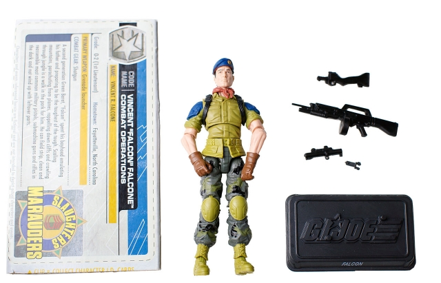 GIJoe - 30th Anniversary - Falcon - Vincent Falcone - Loose 100% Complete