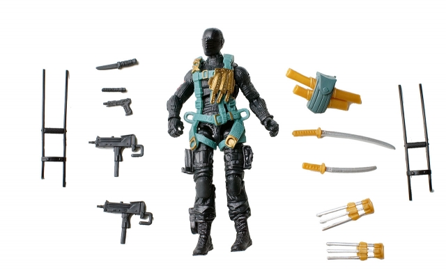 GIJoe - Retaliation - Snake Eyes - Tactical Ninja Team - Loose 100% Complete