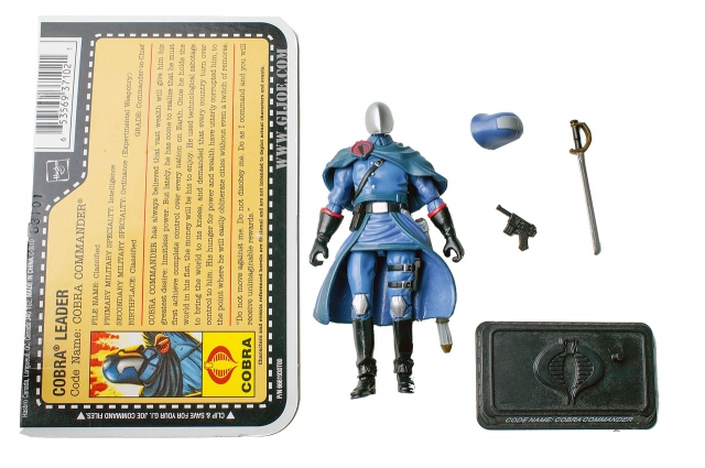 GIJoe - Resolute - Cobra Commander - Cobra Battle Set - Loose 100% Complete