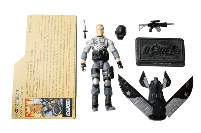 GIJoe - Resolute - Duke - Loose 100% Complete